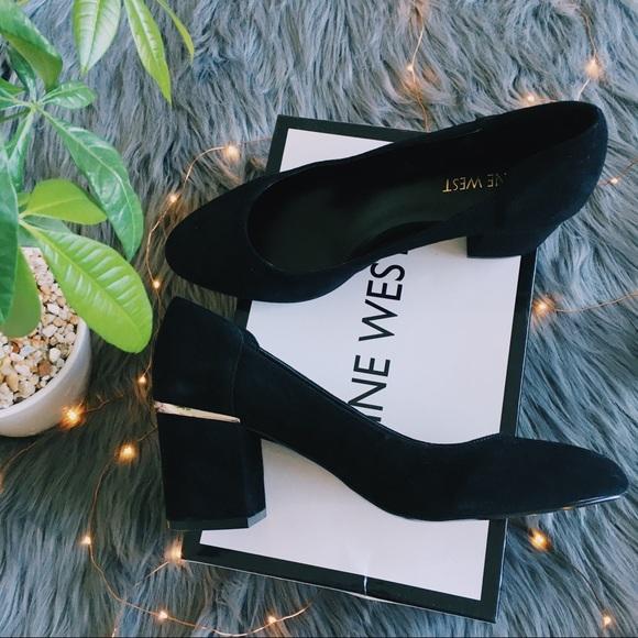 35741f5066b4 ... Nine West Adelineo Black Su Heels (NWOT). M 5aba739531a37689f9f2094a